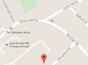 Map to Albrighton Centre