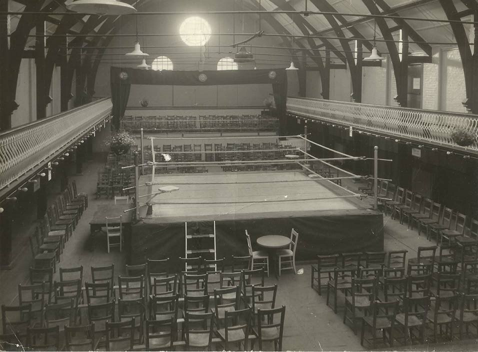 Ladywell Playtower boxing event