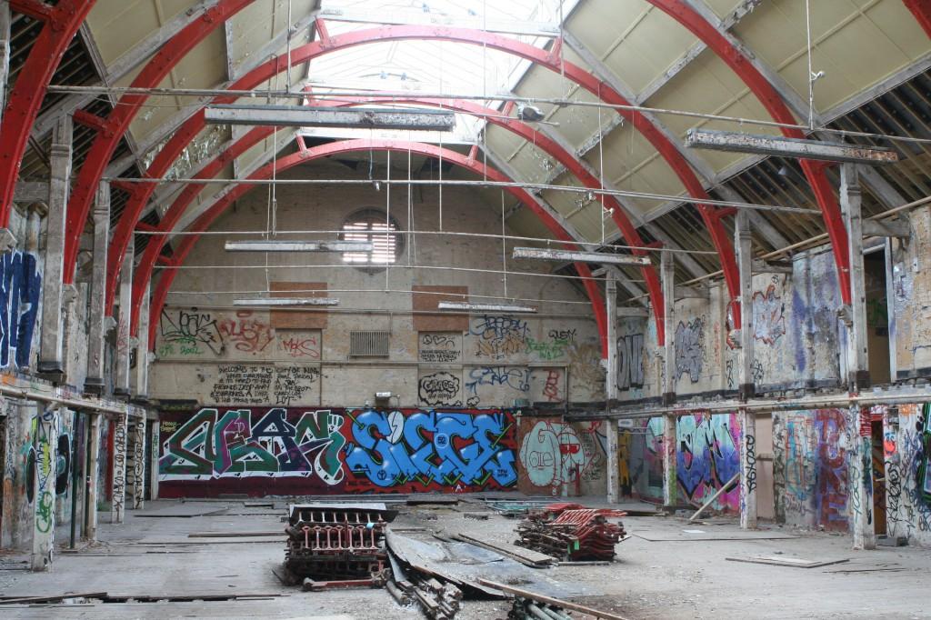 Ladywell Playtower inside