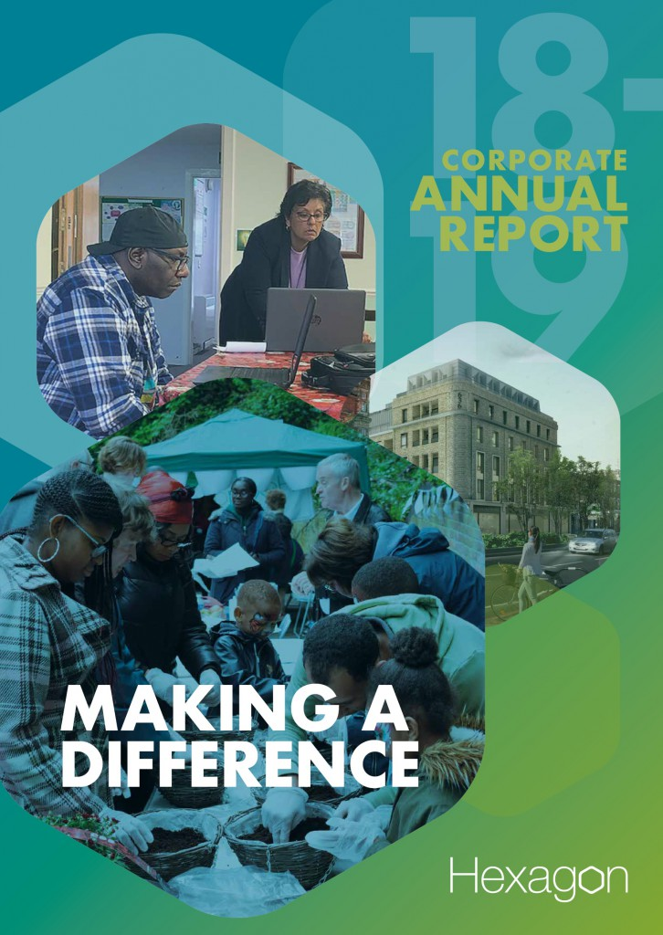 Corporate Report front cover