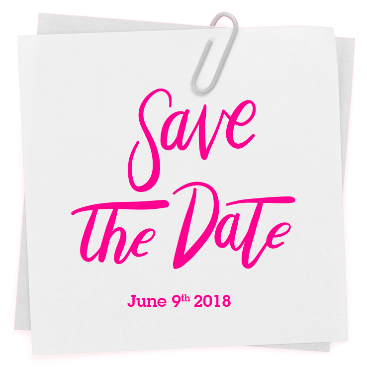 SaveTheDate - 9 June 2018
