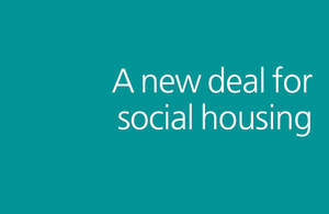 New deal for social housing