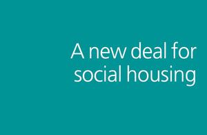 New deal for social housing