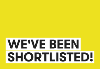 Weve been shortlisted 2